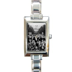 Vintage Uk England The Guards Returning Along The Mall Classic Elegant Ladies Watch (rectangle)