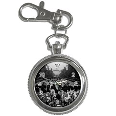 Vintage UK England the Guards returning along the Mall Key Chain & Watch
