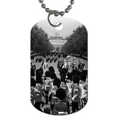 Vintage Uk England The Guards Returning Along The Mall Twin Sided Dog Tag