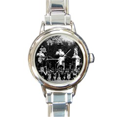 Vintage England London Changing guard Buckingham palace Classic Elegant Ladies Watch (Round)