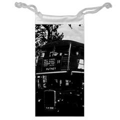 Vintage Uk England London Double Decker Bus 1970 Glasses Pouch