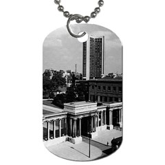Vintage Uk England London Hyde Park Corner Hilton 1970 Twin Sided Dog Tag