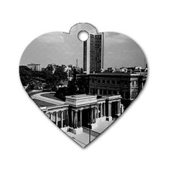 Vintage Uk England London Hyde Park Corner Hilton 1970 Single Sided Dog Tag (heart)