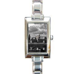 Vintage  UK England London The houses of parliament 1970 Classic Elegant Ladies Watch (Rectangle)