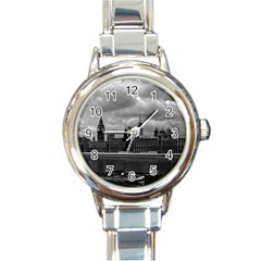 Vintage  UK England London The houses of parliament 1970 Classic Elegant Ladies Watch (Round)