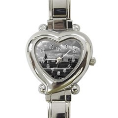 Vintage  UK England London The houses of parliament 1970 Classic Elegant Ladies Watch (Heart)