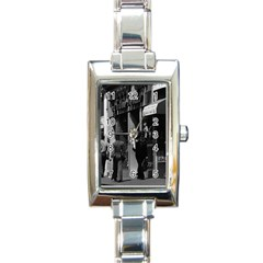 Vintage UK England London Shops Carnaby street 1970 Classic Elegant Ladies Watch (Rectangle)