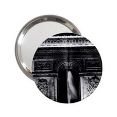 Vintage France Paris Triumphal arch 1970 Handbag Mirror