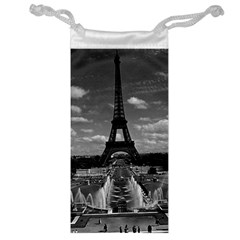 Vintage France Paris Fontain Chaillot Tour Eiffel 1970 Glasses Pouch