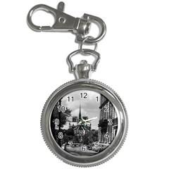 Vintage France Paris notre dame saint louis island 1970 Key Chain & Watch