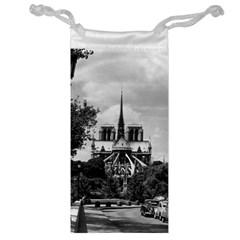 Vintage France Paris notre dame saint louis island 1970 Glasses Pouch