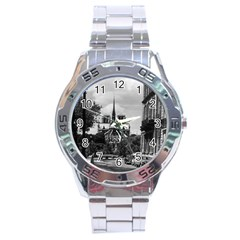Vintage France Paris notre dame saint louis island 1970 Stainless Steel Analogue Watch (Round)