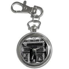 Vintage France Paris Triumphal Arch  Place De L etoile Key Chain & Watch