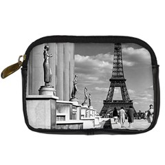 Vintage France Paris Eiffel Tour Chaillot Palace 1970 Compact Camera Case