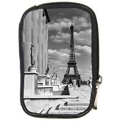 Vintage France Paris Eiffel tour Chaillot palace 1970 Digital Camera Case
