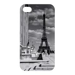 Vintage France Paris Eiffel tour Chaillot palace 1970 Apple iPhone 4/4S Hardshell Case