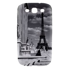 Vintage France Paris Eiffel tour Chaillot palace 1970 Samsung Galaxy S III Hardshell Case