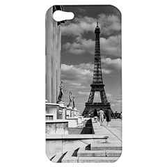 Vintage France Paris Eiffel tour Chaillot palace 1970 Apple iPhone 5 Hardshell Case