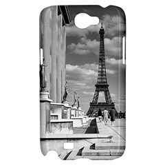 Vintage France Paris Eiffel tour Chaillot palace 1970 Samsung Galaxy Note 2 Hardshell Case