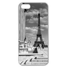 Vintage France Paris Eiffel Tour Chaillot Palace 1970 Apple Seamless Iphone 5 Case (clear)