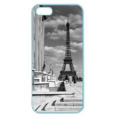 Vintage France Paris Eiffel tour Chaillot palace 1970 Apple Seamless iPhone 5 Case (Color)