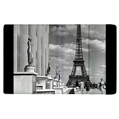 Vintage France Paris Eiffel Tour Chaillot Palace 1970 Apple Ipad 2 Flip Case