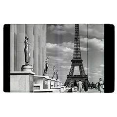 Vintage France Paris Eiffel tour Chaillot palace 1970 Apple iPad 3/4 Flip Case