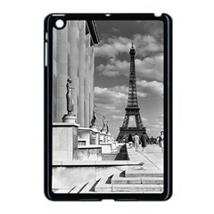 Vintage France Paris Eiffel Tour Chaillot Palace 1970 Apple Ipad Mini Case (black)