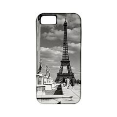 Vintage France Paris Eiffel tour Chaillot palace 1970 Apple iPhone 5 Classic Hardshell Case (PC+Silicone)