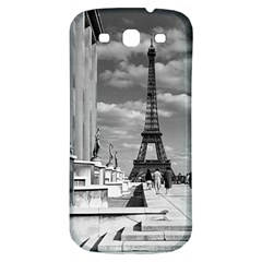 Vintage France Paris Eiffel Tour Chaillot Palace 1970 Samsung Galaxy S3 S Iii Classic Hardshell Back Case