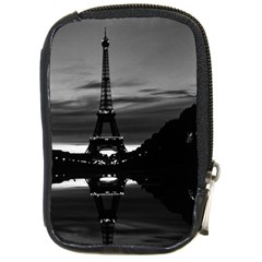 Vintage France Paris Eiffel tower reflection 1970 Digital Camera Case