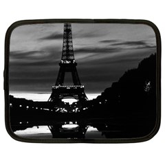 Vintage France Paris Eiffel tower reflection 1970 15  Netbook Case