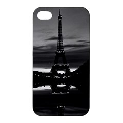 Vintage France Paris Eiffel Tower Reflection 1970 Apple Iphone 4/4s Hardshell Case