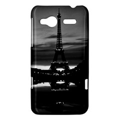 Vintage France Paris Eiffel tower reflection 1970 HTC Radar Hardshell Case