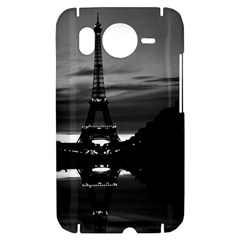 Vintage France Paris Eiffel tower reflection 1970 HTC Desire HD Hardshell Case