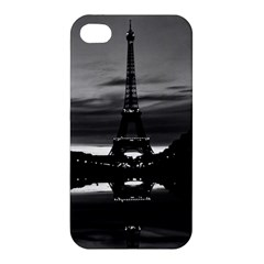 Vintage France Paris Eiffel tower reflection 1970 Apple iPhone 4/4S Premium Hardshell Case