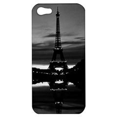 Vintage France Paris Eiffel Tower Reflection 1970 Apple Iphone 5 Hardshell Case