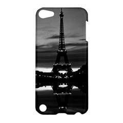 Vintage France Paris Eiffel tower reflection 1970 Apple iPod Touch 5 Hardshell Case