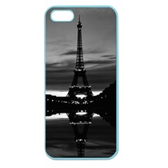 Vintage France Paris Eiffel tower reflection 1970 Apple Seamless iPhone 5 Case (Color)
