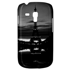 Vintage France Paris Eiffel Tower Reflection 1970 Samsung Galaxy S3 Mini I8190 Hardshell Case