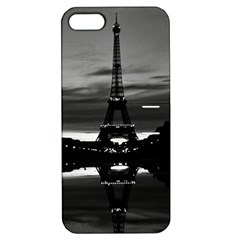 Vintage France Paris Eiffel tower reflection 1970 Apple iPhone 5 Hardshell Case with Stand