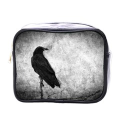 Black Crow Single-sided Cosmetic Case