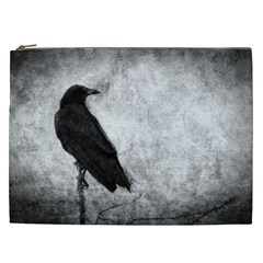 Black Crow Cosmetic Bag (XXL)