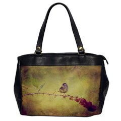 Palm Warbler Single-sided Oversized Handbag