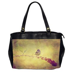 Palm Warbler Twin-sided Oversized Handbag