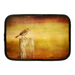 Bird On A Fence 10  Netbook Case