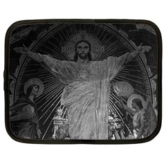 Vintage France Paris Sacre Coeur Basilica Dome Jesus 13  Netbook Case