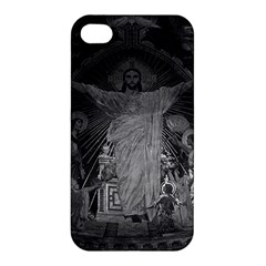 Vintage France Paris Sacre Coeur Basilica dome Jesus Apple iPhone 4/4S Hardshell Case
