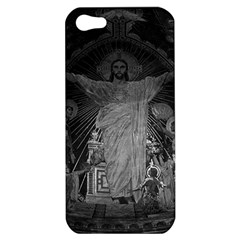 Vintage France Paris Sacre Coeur Basilica Dome Jesus Apple Iphone 5 Hardshell Case