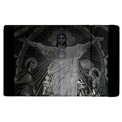 Vintage France Paris Sacre Coeur Basilica Dome Jesus Apple Ipad 2 Flip Case